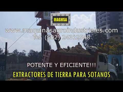 EXTRACTORES TIERRA PARA SOTANOS - EXCAVACIONES , SOTANOS, MOVIMIENTO DE TIERRAS
