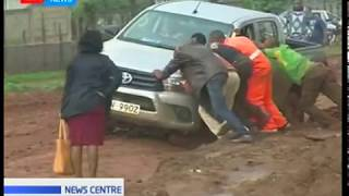 Motorists stranded in Maralal due to poor roads