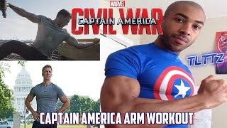 Captain America Arm Workout | Civil War Tough Like The Toonz: EP 10