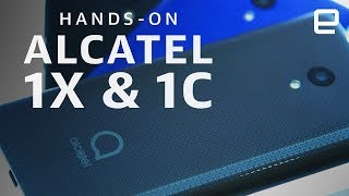 Alcatel 1X (2019) & Alcatel 1C (2019) Hands-On