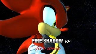 Sonic Generations  Fire Sonic VS Fire Shadow