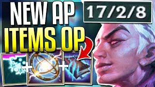 NEW AP ITEMS ARE BROKEN! WTF IS THIS DMG? New AP Items Gameplay - League of Legends