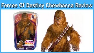 Star Wars Forces of Destiny Roaring Chewbacca Review