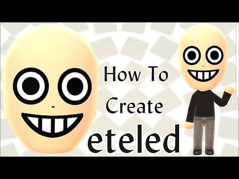 Mii Maker: How To Create Boo! - смотреть онлайн на Hah Life