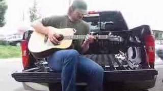 "Eric Church ""Two Pink Lines"" On his Tailgate! - video by Trevor George"