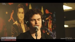 We're Going Home   Vance Joy | Live From Eddie's Desk! | The Hot Breakfast