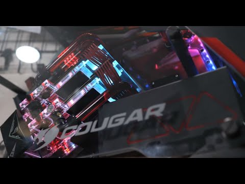 You've NEVER seen a GAMING PC this good! - Cougar Conquer Build