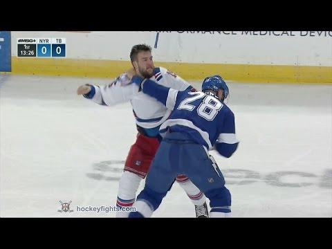 Tanner Glass vs Luke Witkowski