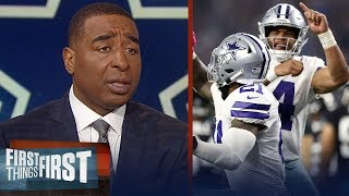 Can the Dallas Cowboys win in the postseason? Cris and Nick discuss   NFL   FIRST THINGS FIRST