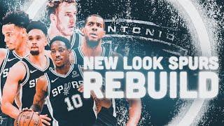 Youth Movement! New Look San Antonio Spurs Rebuild! NBA 2K19