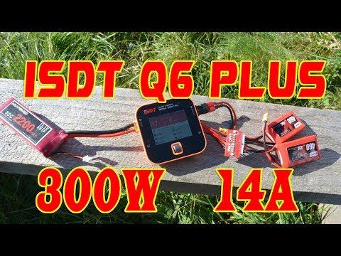 Обзор и использование ISDT Q6 Plus 300W 14A