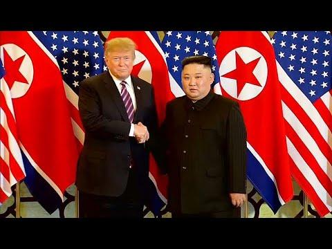Σε φιλικό κλίμα το δείπνο του Ντόναλντ Τραμπ με τον Κιμ Γιονγκ Ουν…