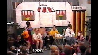 Schoolmusical 1997 BS De Molenhoek 'Inpakken en wegwezen'