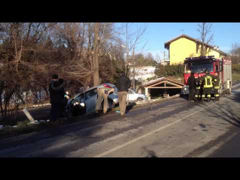 Incidente tra Daverio e Azzate