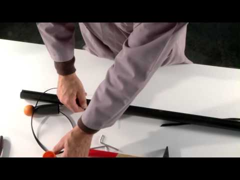Video sostituzione fettuccia per Universal Garden Cutter