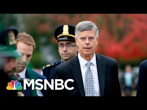 Amb. Bill Taylor's 'Devastating' Opening Statement Draws 'Direct Line' To Trump | Deadline | MSNBC