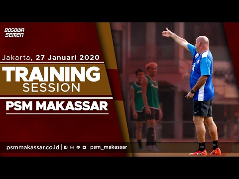 Tetap Fokus Sebelum Menuju Bogor   Training Session