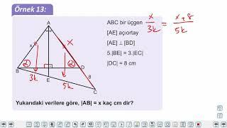 Eğitim Vadisi TYT Geometri 5.Föy Üçgenin Yardımcı Elemanları Konu Anlatım Videoları