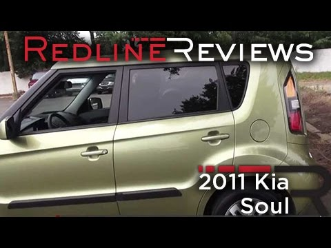 2011 Kia Soul + Review, Walkaround, Start Up, Test Drive