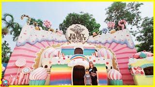 น้องบีม | เที่ยวชลบุรี Space Inspirium FairySweet Village โรงแรม Grande Centre Pint Pattaya คลิปเต็ม