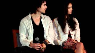 Нина Добрев и Йен Сомерхолдер, IAN & NINA Q&A - Mystic Love Convention