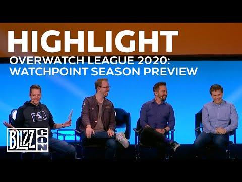 BlizzCon 2019 | Overwatch League 2020: Watchpoint Season Preview Highlights