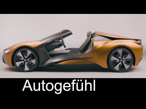 BMW i8 Spyder as BMW i Vision Future Interaction Concept - Autogefühl
