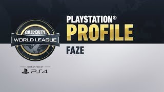 FaZe Clan: PlayStation Profiles