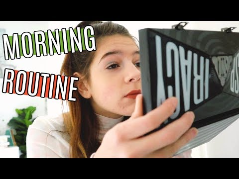 MORNING ROUTINE for Christmas Break  | ANNIE ROSE