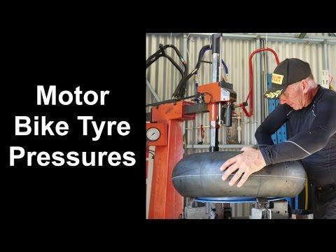 What Tyre Pressure Settings Should I Run On My Motorbike