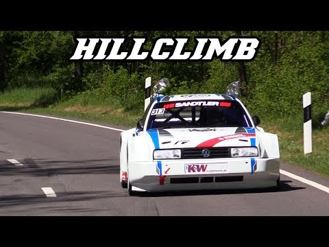 Hillclimb Eschdorf 2018 - Intake sounds, Turbo's, F1 screams and more
