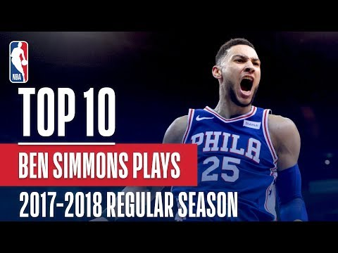 bdce581f899563 Ben Simmons 17 -18  Rookie Of The Year