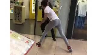 Рязань. Драка между охранниками и посетителями ТРЦ М5 Молл