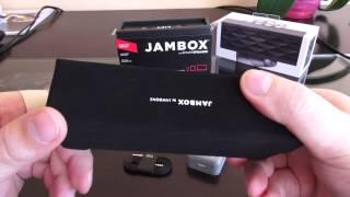 Jawbone Jambox Распаковка и первый взгляд.