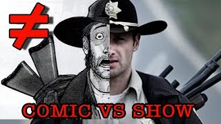 The Walking Dead (Season 1) - What's the Difference?