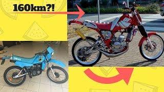 Sobre Rodas Pt : Yamaha Dt Lc 50 !?? A.L Motors - Racing Team