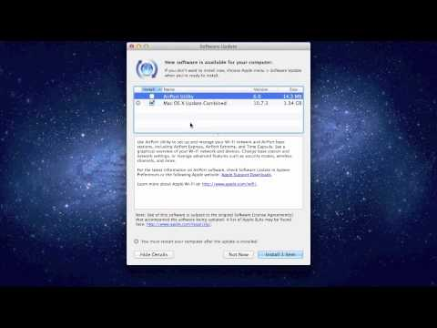 , title : 'How To Update Mac with Apple Software Update (OS 10.8 and earlier)'