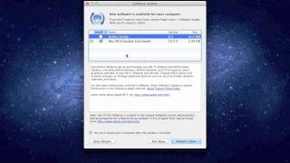 How To Update Mac with Apple Software Update (OS 10.8 and earlier)