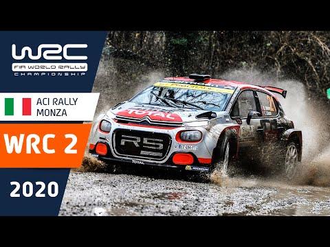 WRC2 第7戦ラリー・モンツァ 全SSのハイライト動画