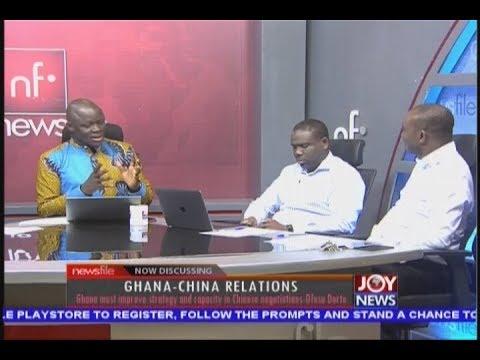 Ghana-China Relations - Newsfile on JoyNews (8-9-18)