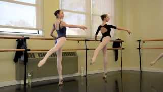 Robbie and Brittney at Barre