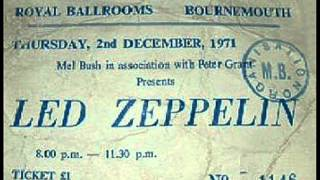 It'll Be Me - Led Zeppelin (live Bournemouth 1971-12-02)