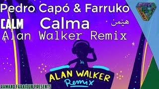 Pedro Capó & Farruko   Calma (Alan Walker Remix) (SpanishEnglishKurdish Lyrics)