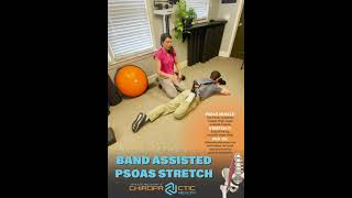 Band Assisted Psoas Stretch