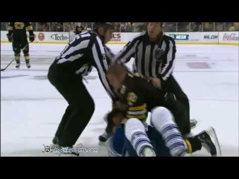 Dion Phaneuf vs Nathan Horton
