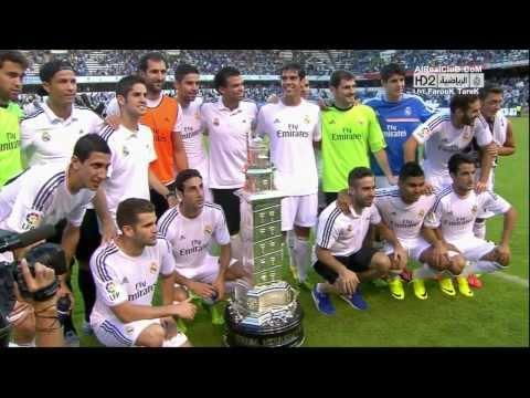تتويج ريال مدريد كامل بكأس تيريزا هيريرا الودية