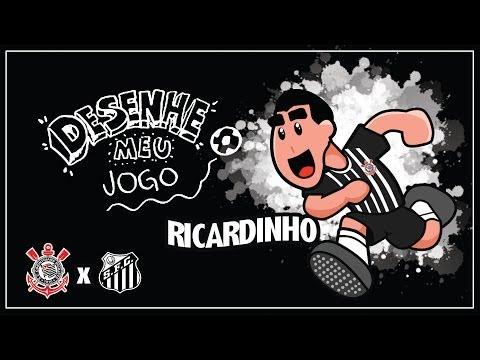 Corinthians x Santos - Campeonato Paulista 2001 - Desenhe meu jogo #09