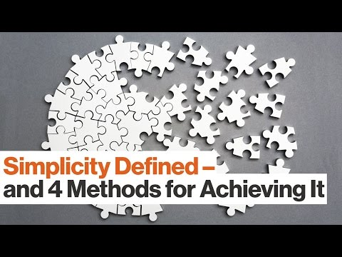 Is Less Always More? 4 Simplicity Tips | Lisa Bodell