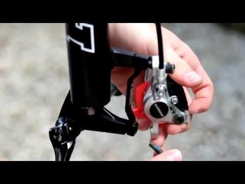Bremse am MTB wechseln (Shimano XT)