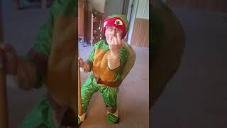 Red ninja turtle